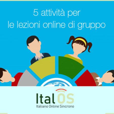 5 attività per le lezioni online di gruppo