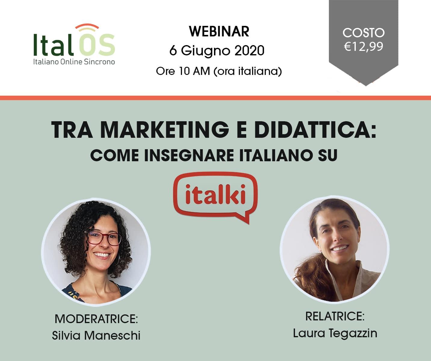 Webinar-Italki