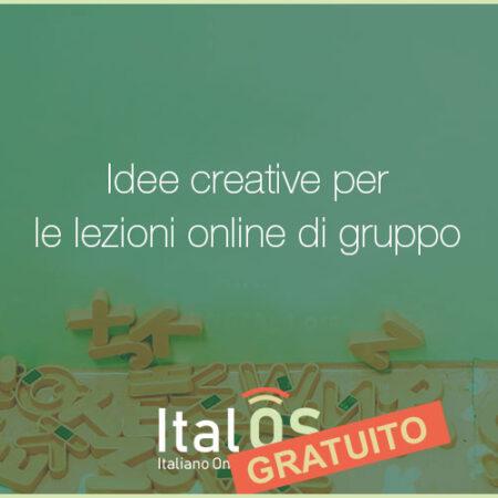 Idee creative per le lezioni online di gruppo